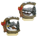 Magnet Wintermotiv 228 sort.