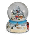 Schneekugel Wintermotiv 6cm 48 sort. (Winter)