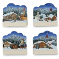 Magnet Landschaft/Himmel 3D (Winter)
